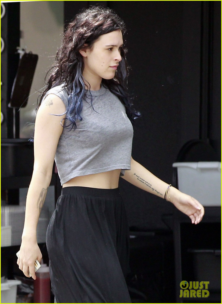 rumer willis bare lunch at joans 012683286