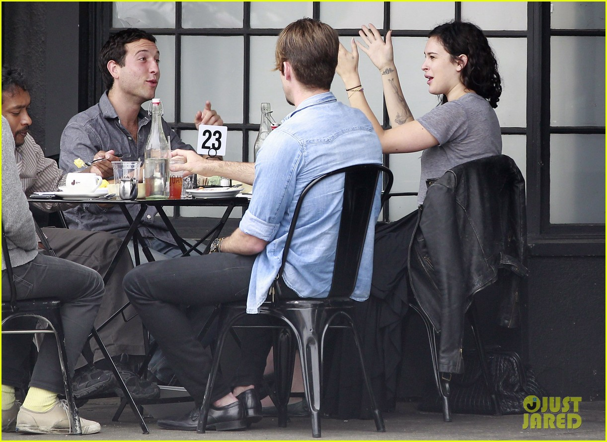 rumer willis bare lunch at joans 022683287