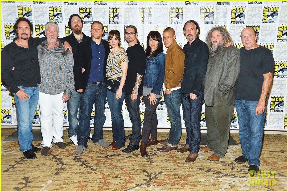 sons of anarchy comic con panel 102687969