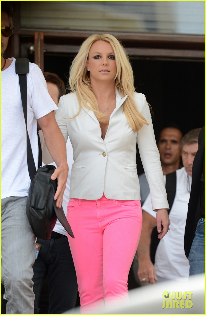 britney spears hot pink skinny jeans 012691932