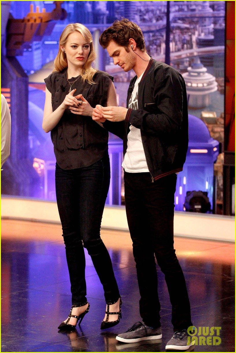 emma stone andrew garfield spider man tops july 4th 012683635