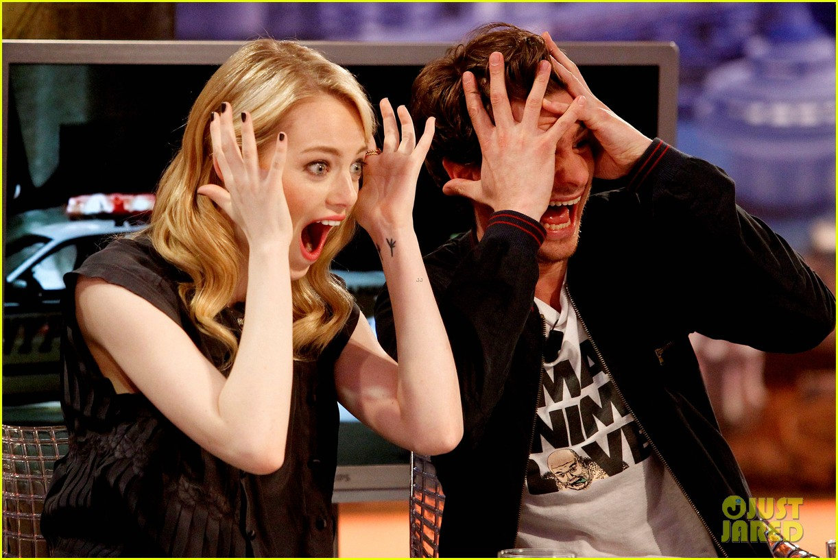 emma stone andrew garfield spider man tops july 4th 032683637