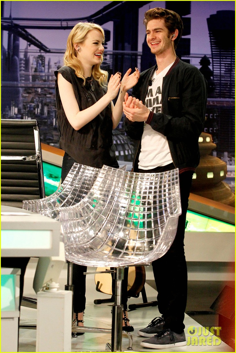 emma stone andrew garfield spider man tops july 4th 042683638