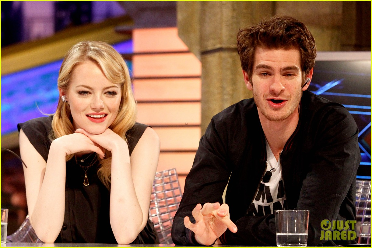 emma stone andrew garfield spider man tops july 4th 132683647