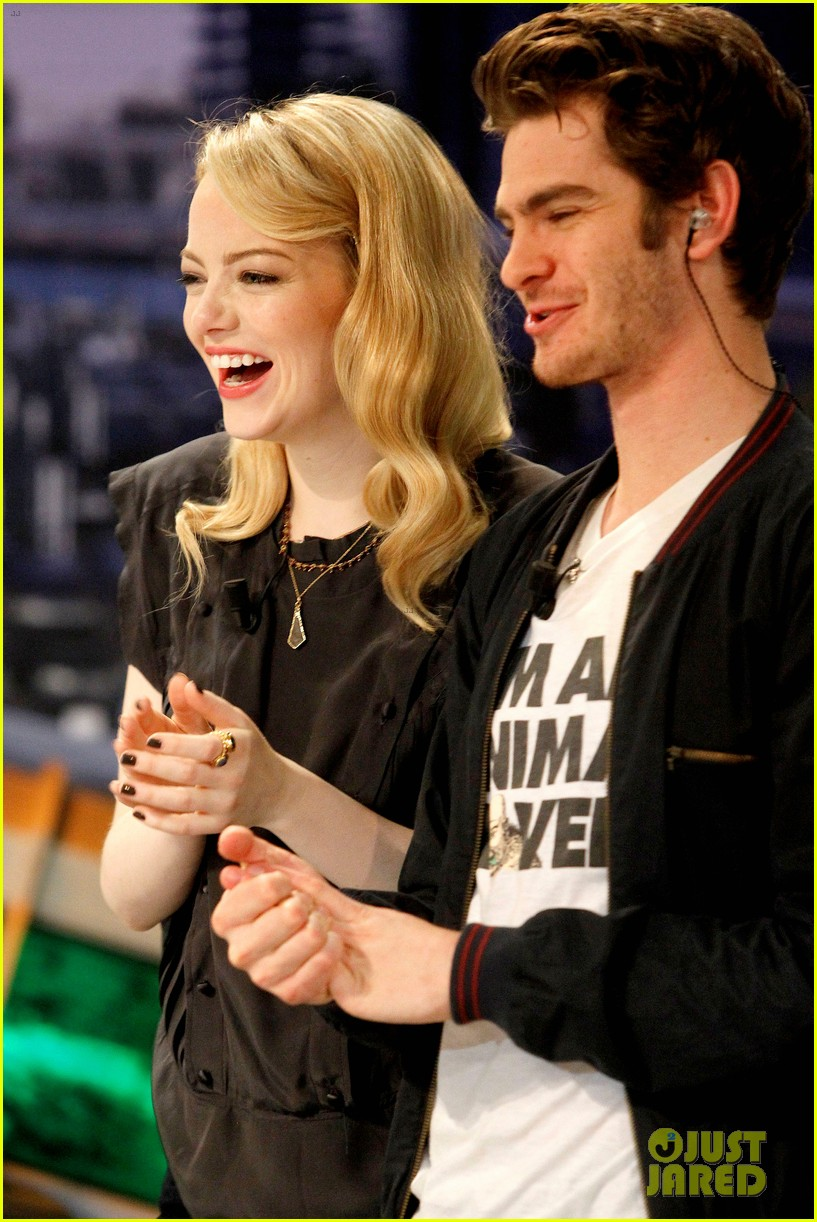 emma stone andrew garfield spider man tops july 4th 222683656