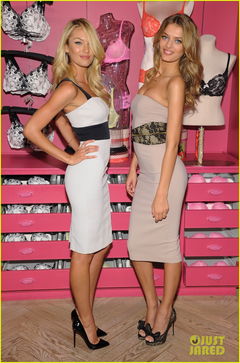 candice swanepoel body by victoria launch 012694882