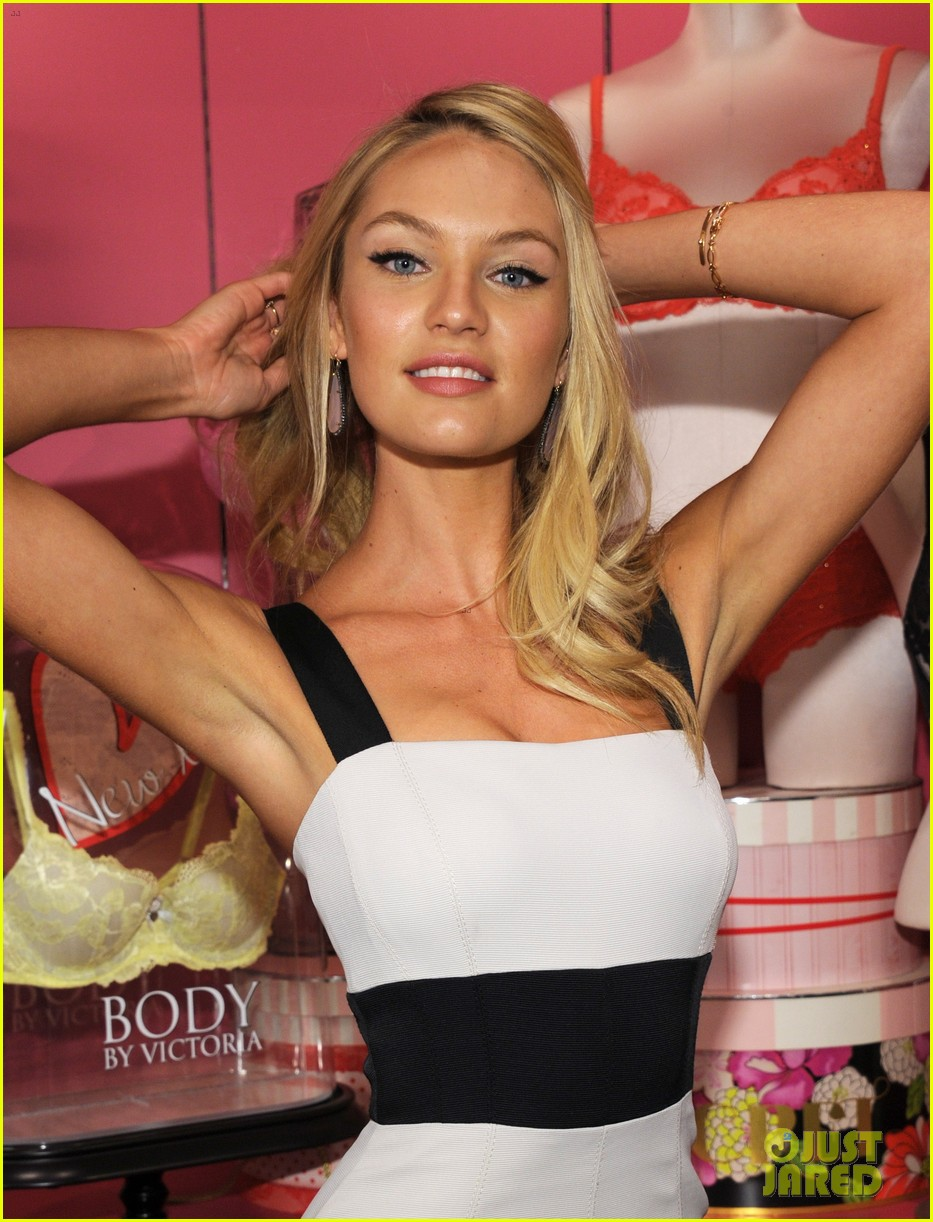 candice swanepoel body by victoria launch 042694885
