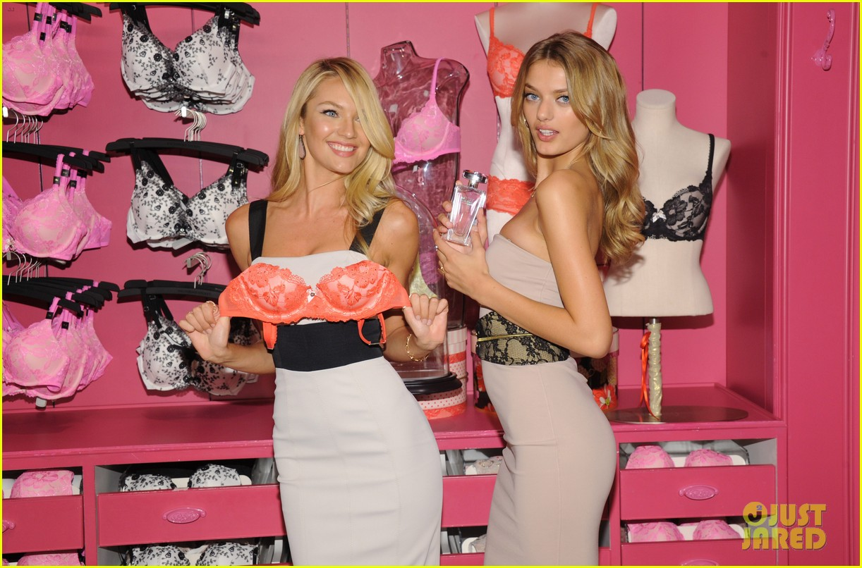 candice swanepoel body by victoria launch 092694890