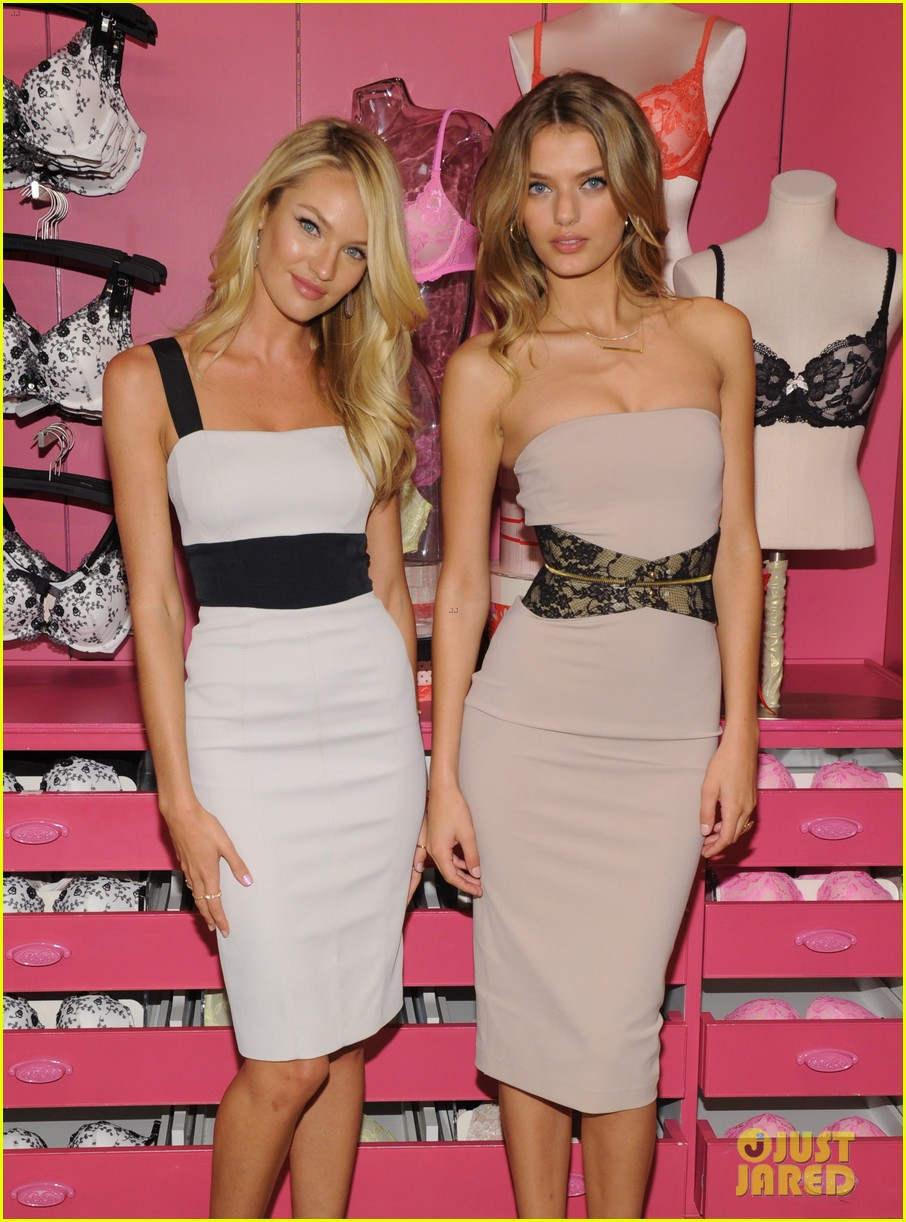 candice swanepoel body by victoria launch 172694898
