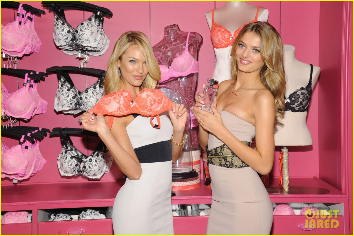 candice swanepoel body by victoria launch 212694902