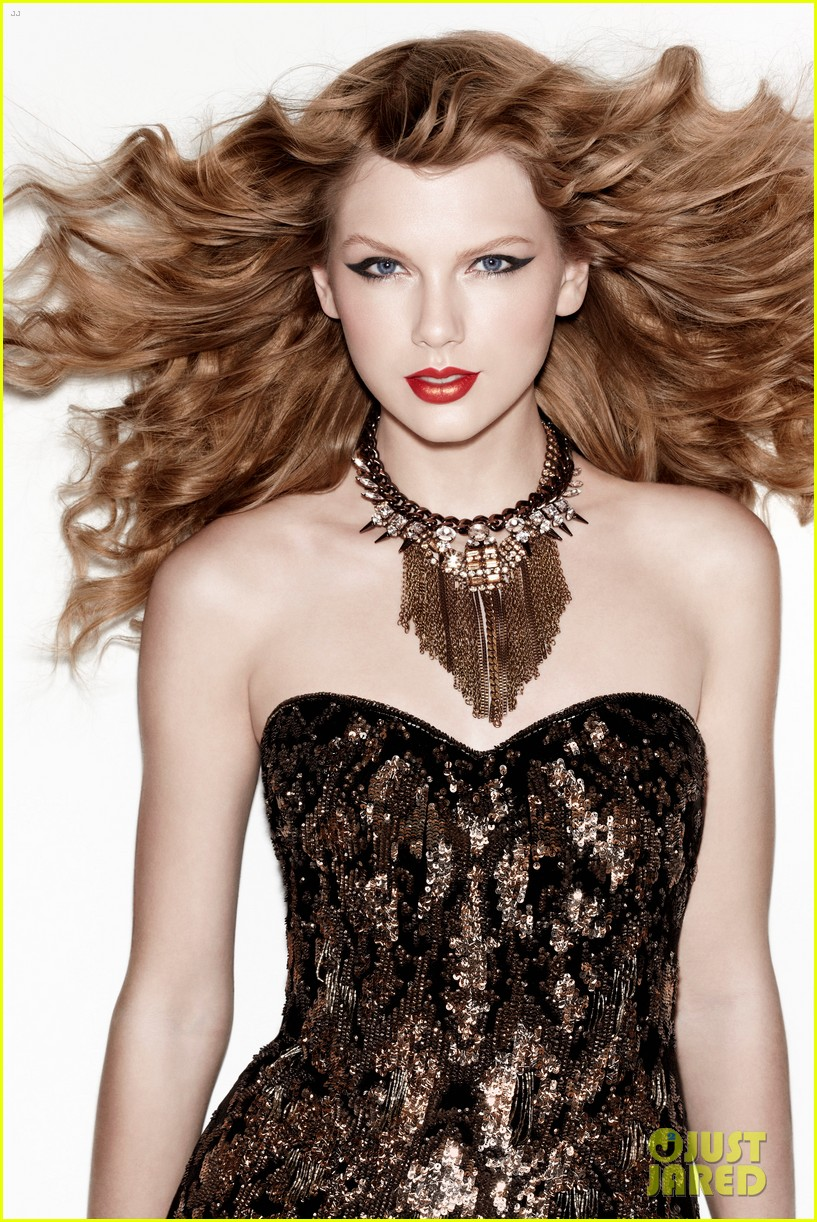 taylor swift darker hair in new covergirl campaign 02
