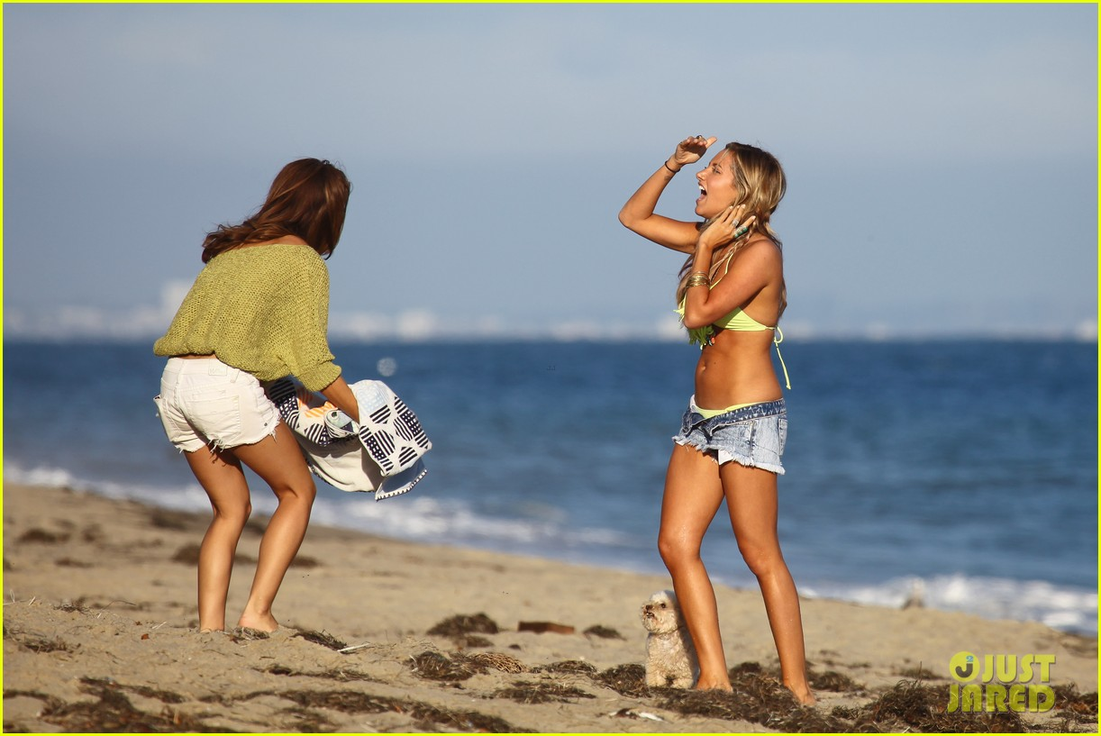 vanessa hudgens happy bikini birthday ashley tisdale 172682249