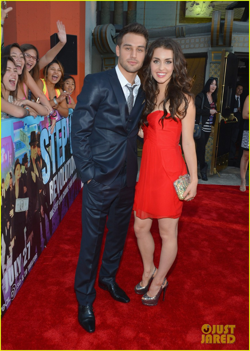 ashley tisdale ryan guzman step up revolution premiere 052689065