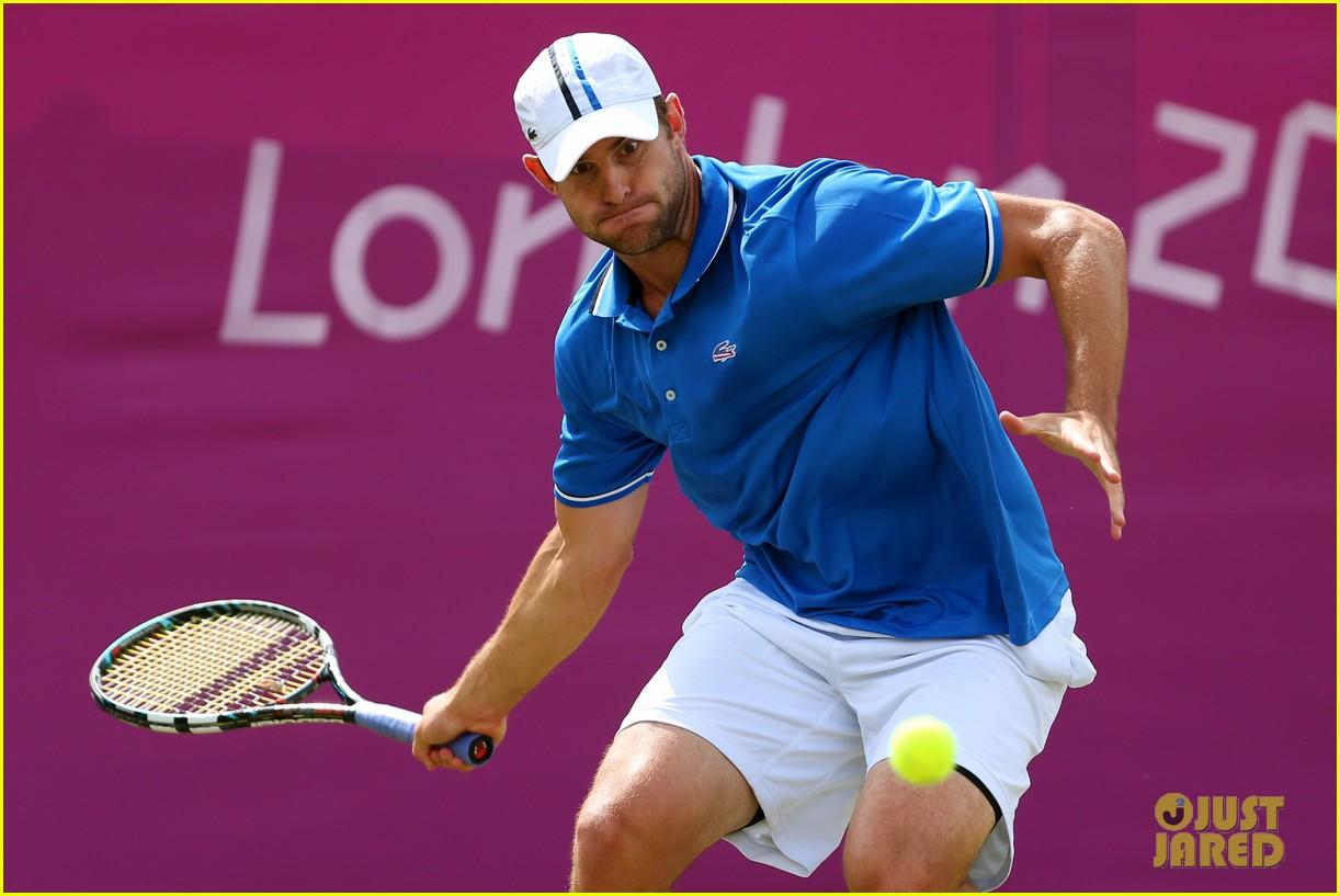 venus serena williams andy roddick olympic tennis 112694517