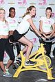victorias secret angels soulcycle for cancer research 08