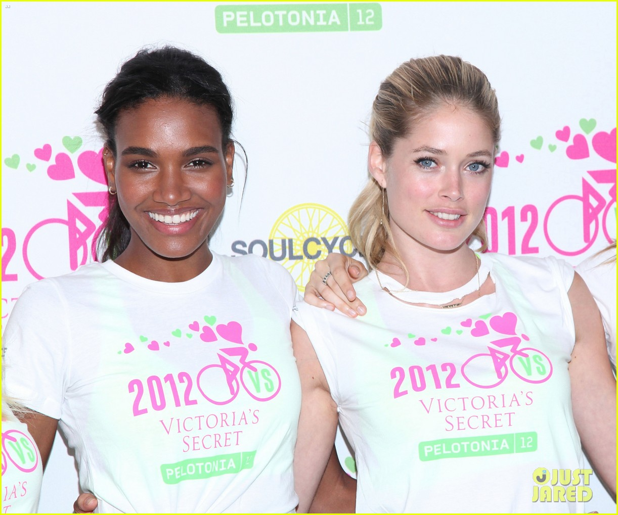 victorias secret angels soulcycle for cancer research 062686116