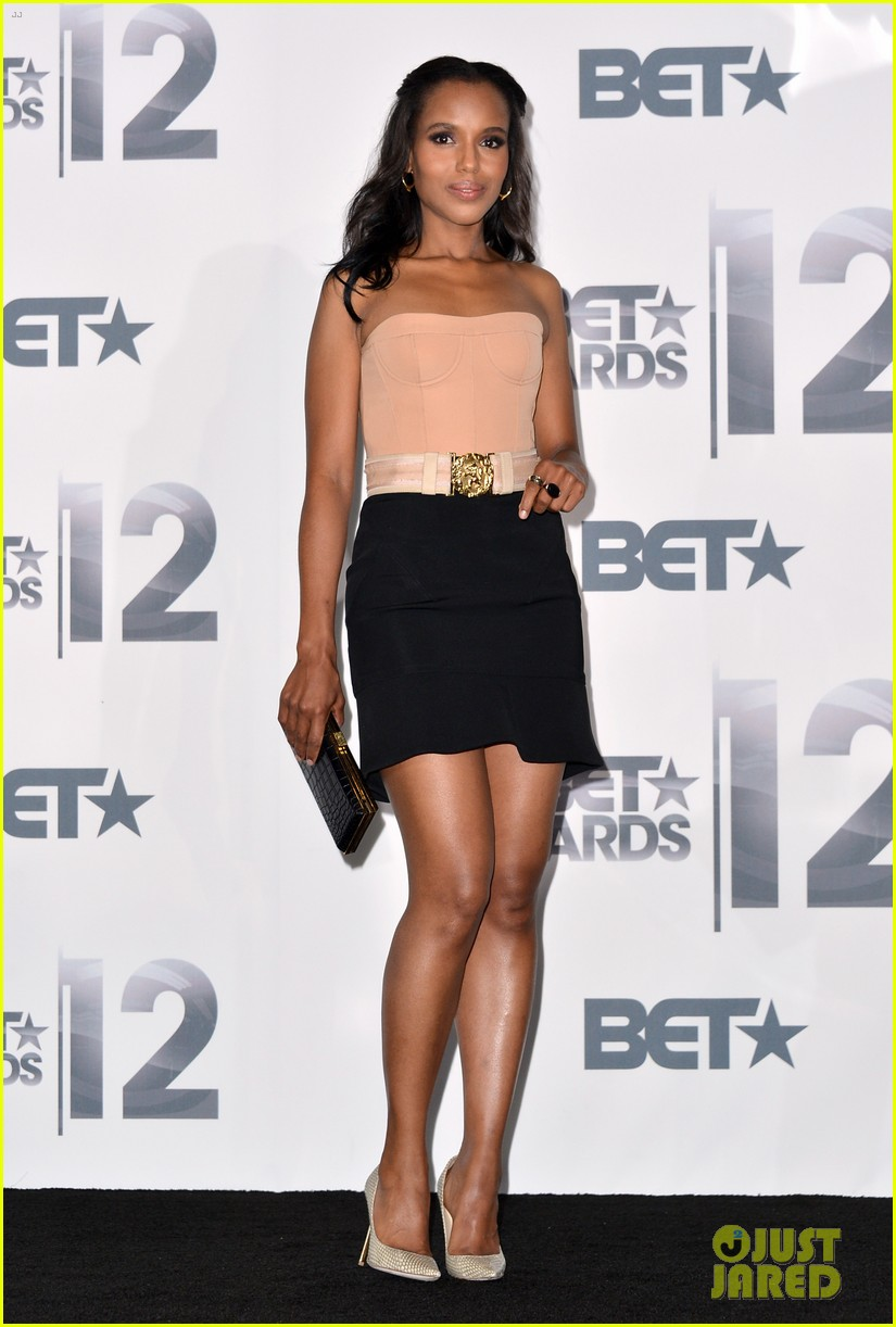 kerry washington taraji p henson bet awards 2012 14