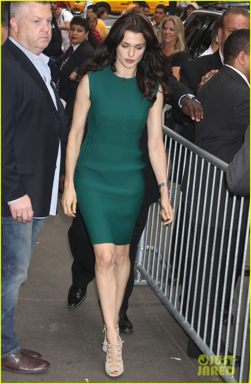 rachel weisz good morning america with jeremy renner 012694380