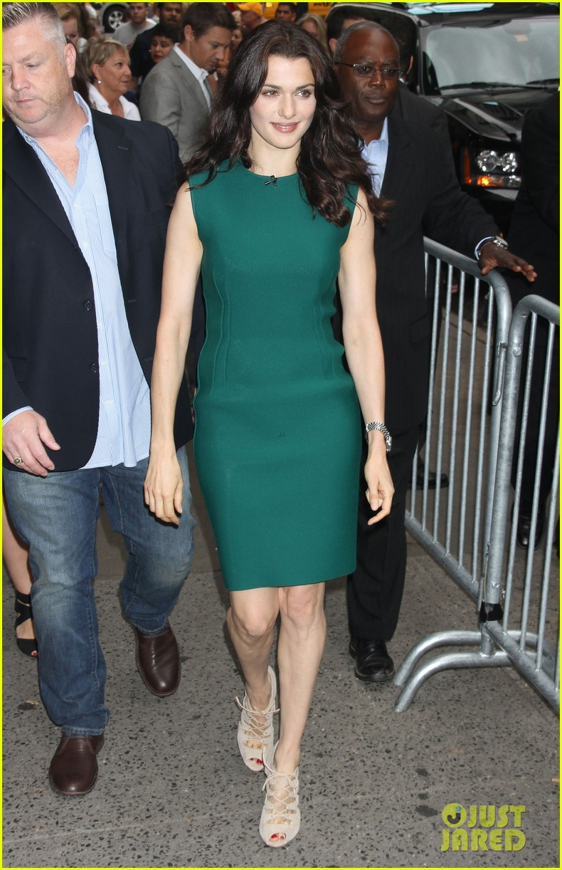 rachel weisz good morning america with jeremy renner 032694382
