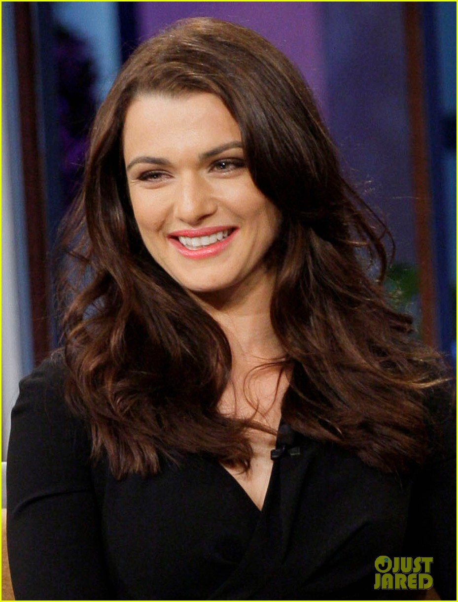 rachel weiz tonight show with jay leno appearance 02