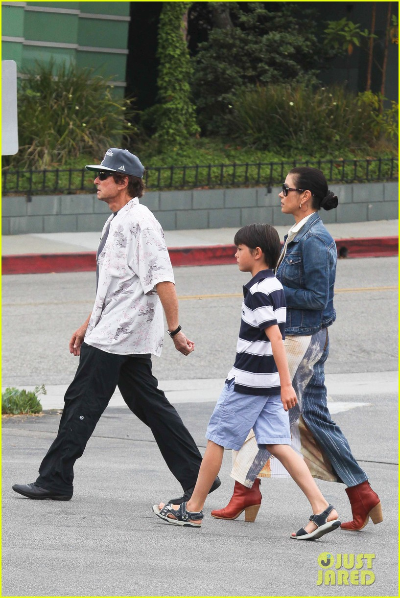 catherine zeta jones lunch with michael and dylan 112686913