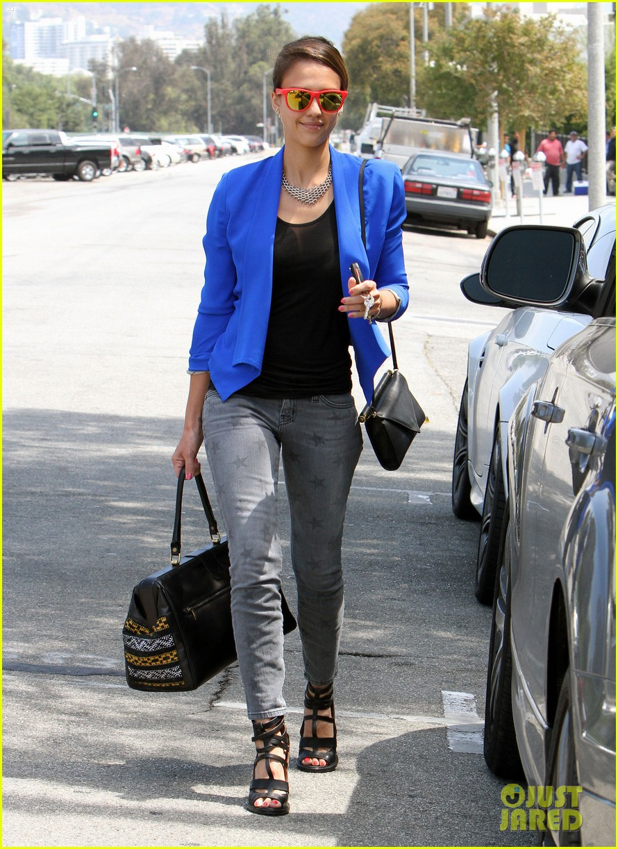 jessica alba kimball hastings lunch 27