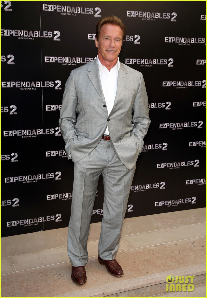 arnold schwarzenegger sylvester stallon expendables 2 paris photo call 012699650