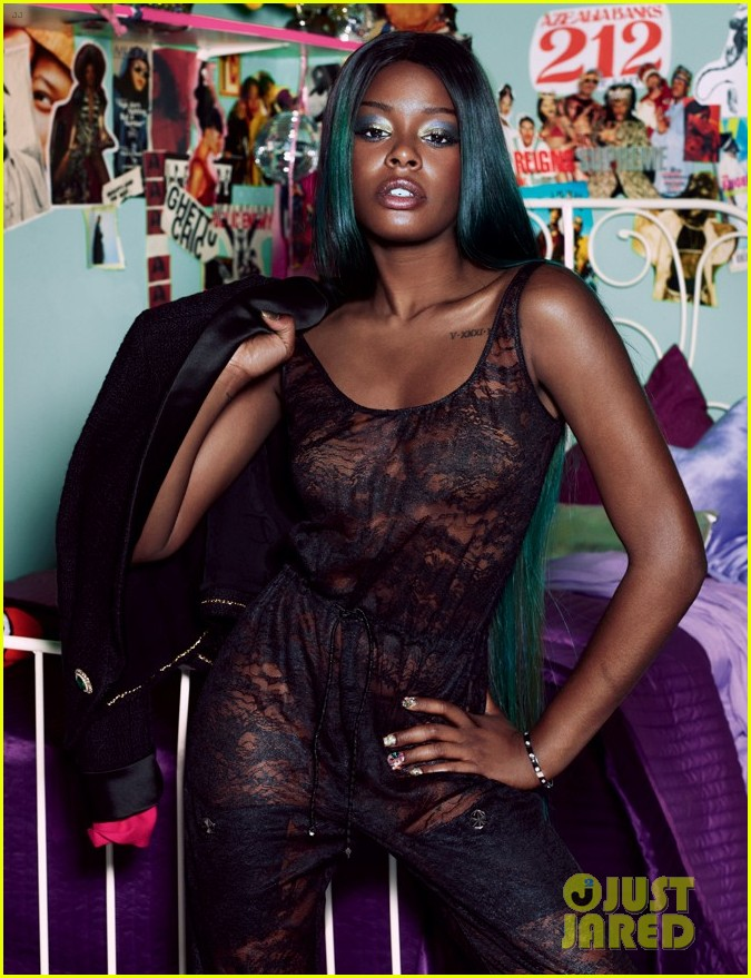 azealia banks covers dazed confused september 2012 022702438