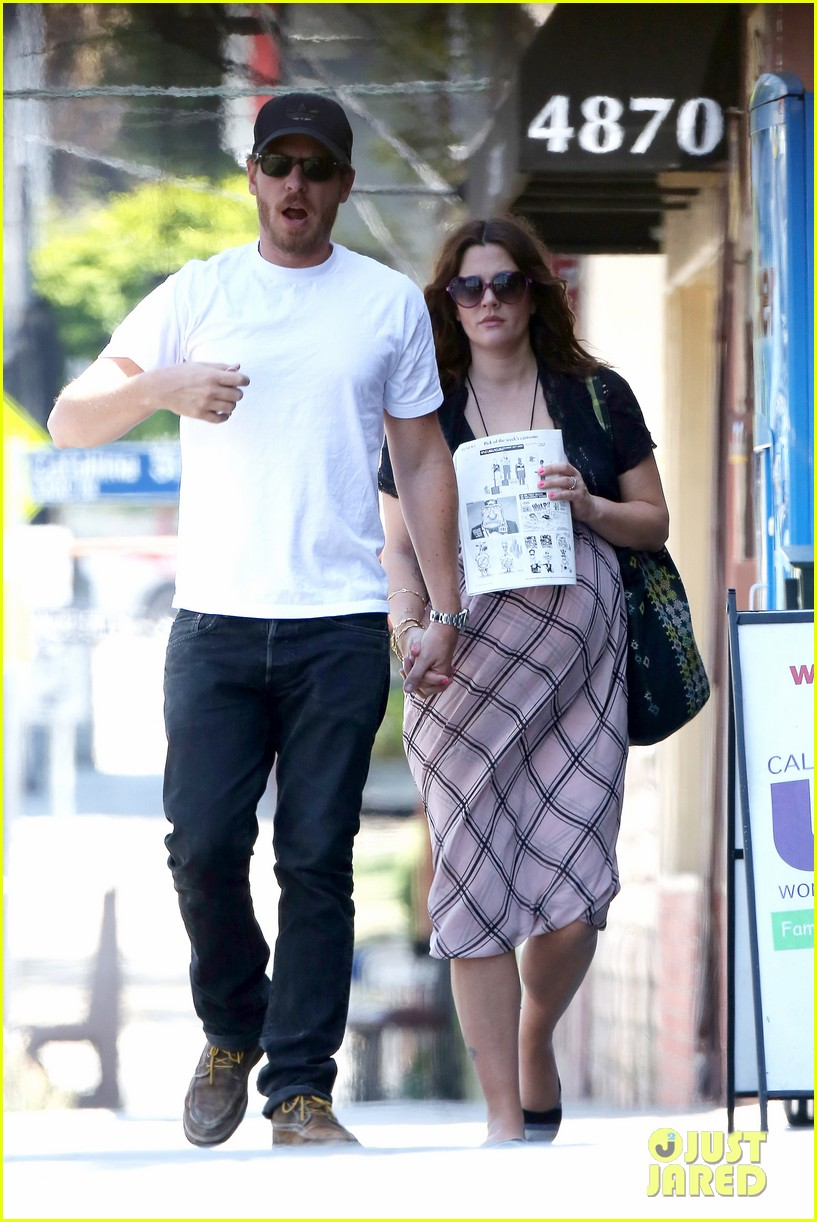 drew barrymore baby bump lunch will kopelman 062704863