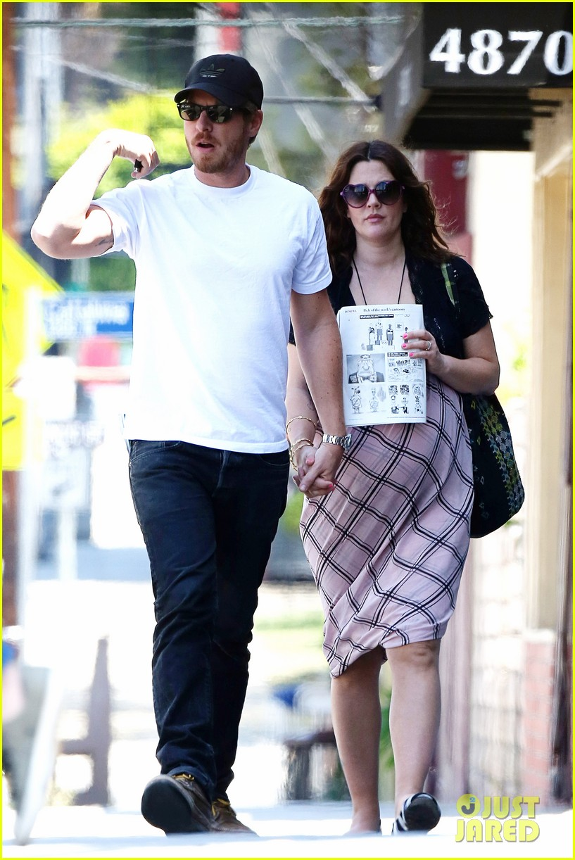 drew barrymore baby bump lunch will kopelman 12