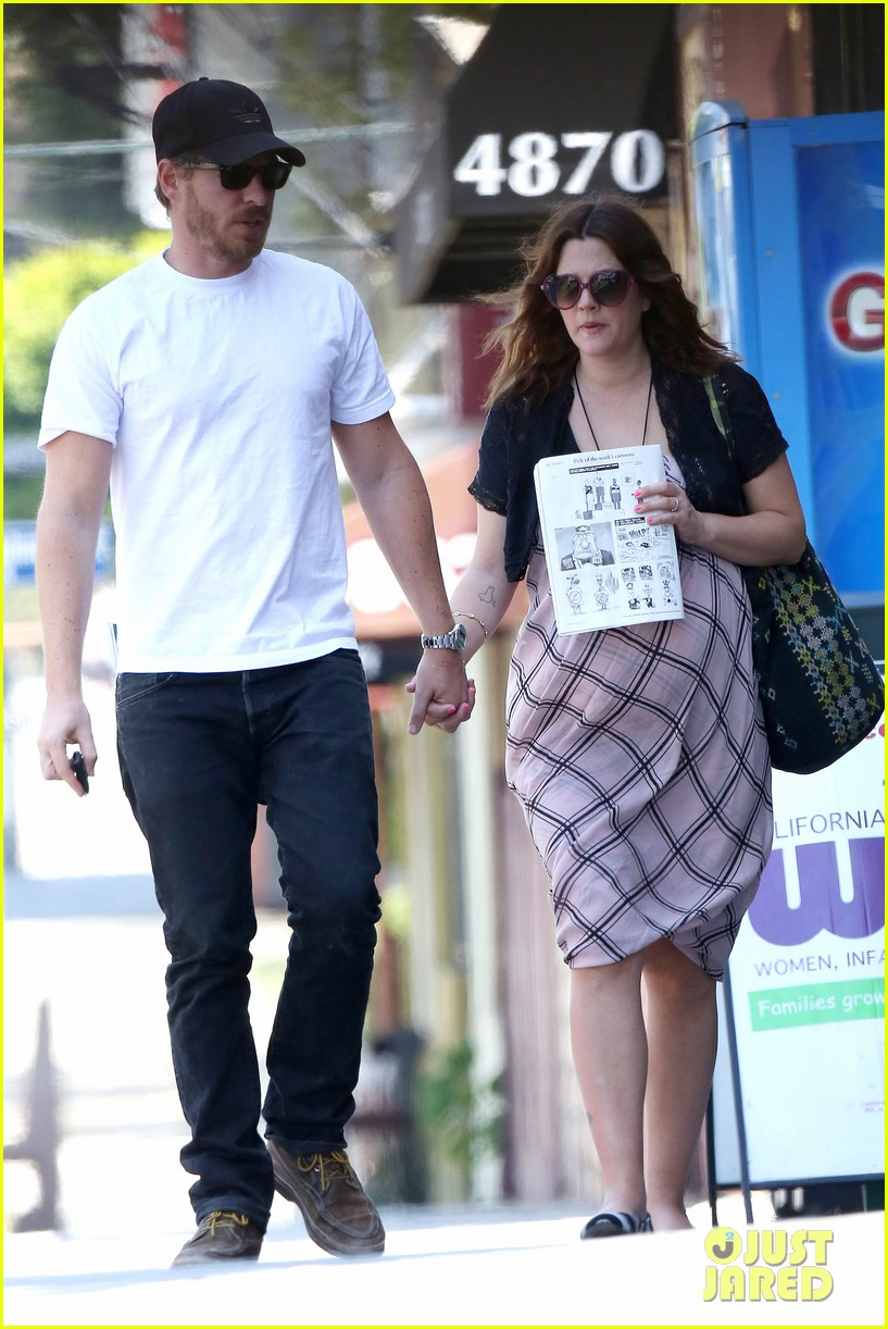 drew barrymore baby bump lunch will kopelman 132704869