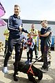 david beckham boys meet greet olympic guards 10