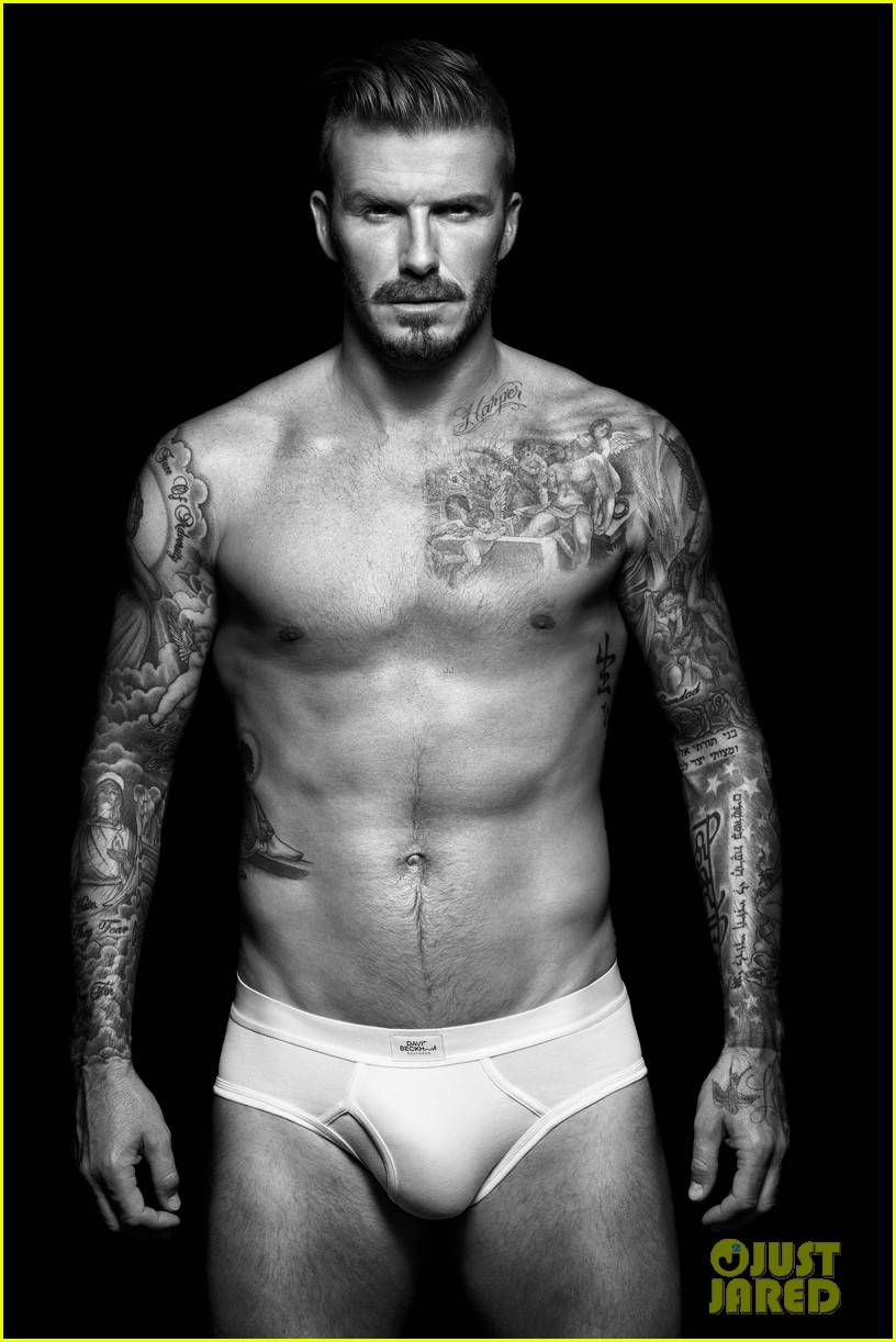 shirtless david beckham bodywear campaign images 012703305