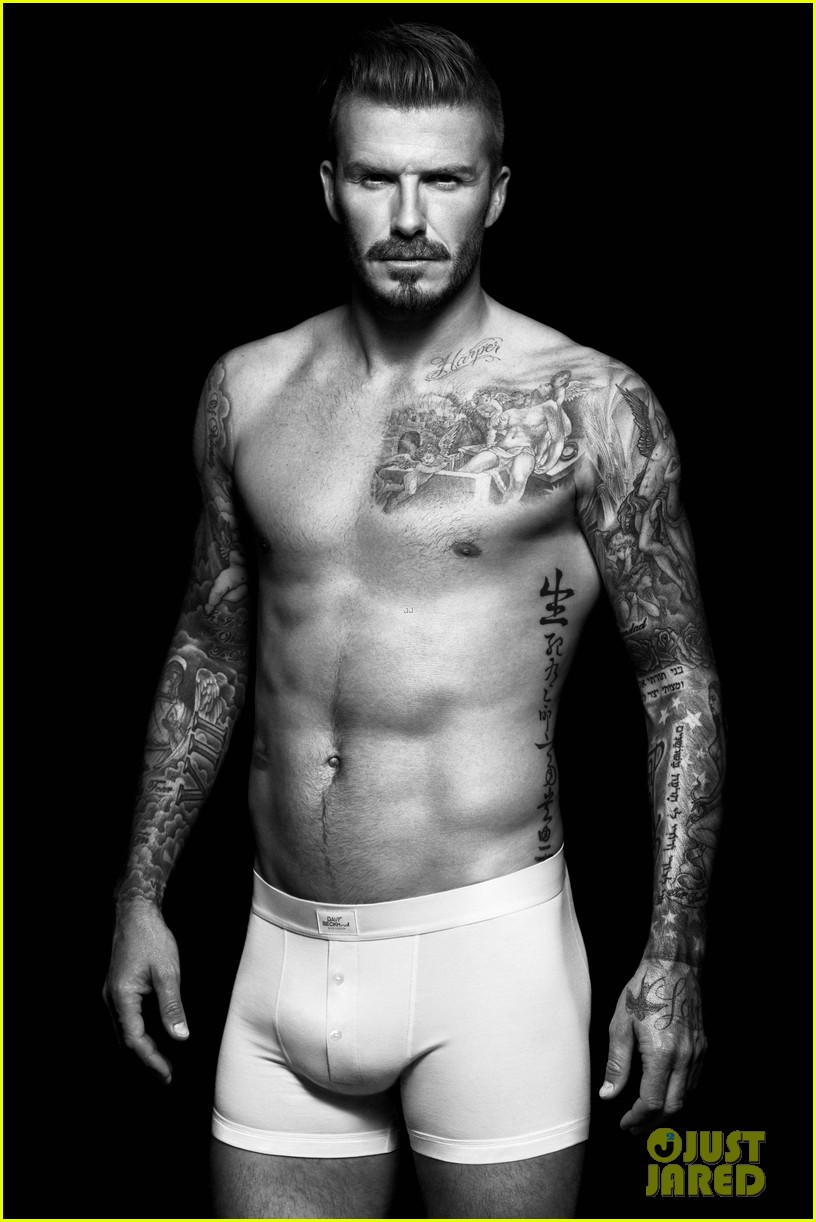 shirtless david beckham bodywear campaign images 032703307