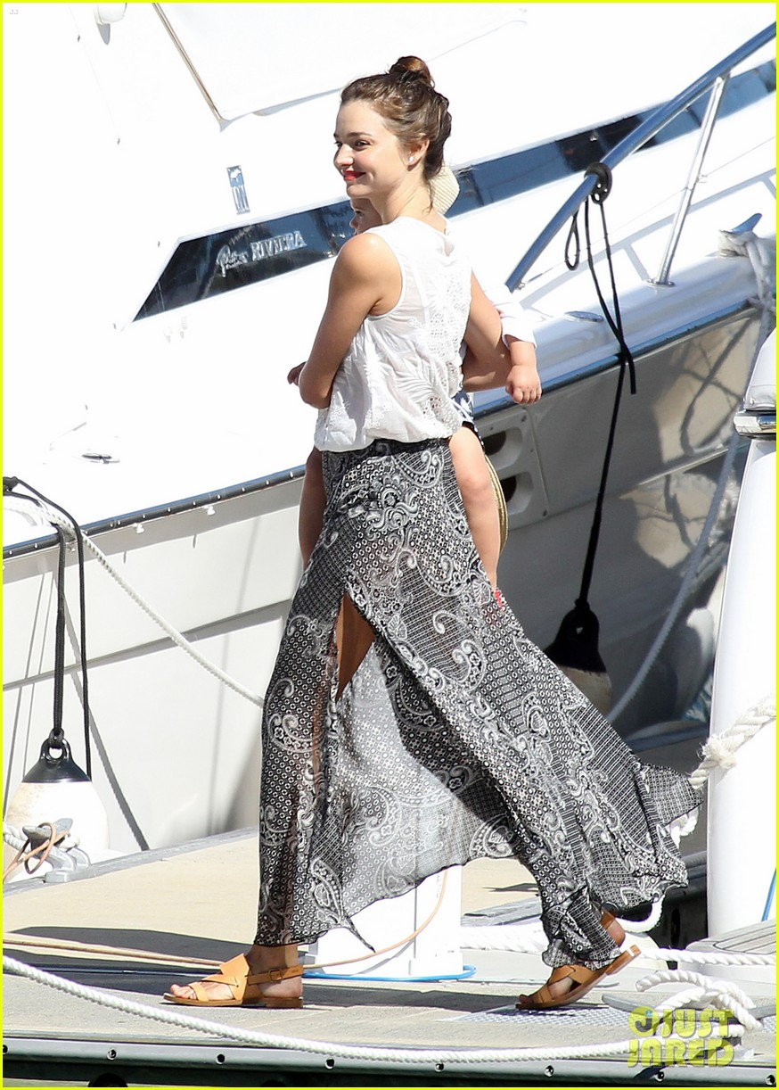 miranda kerr orlando bloom yachting 022697239