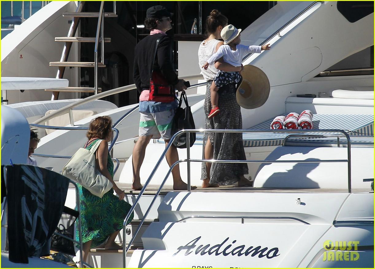 miranda kerr orlando bloom yachting 082697245