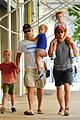 matt bomer family stroll 03