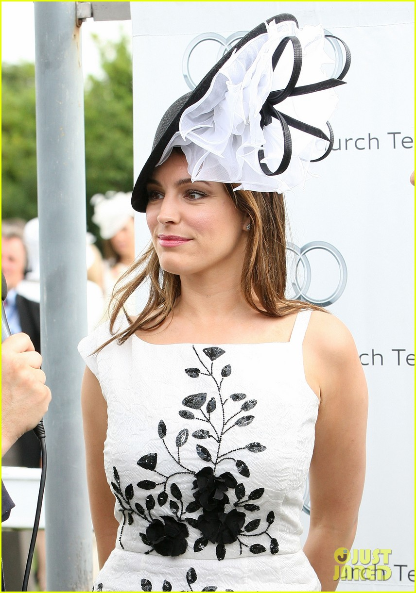 kelly brook goodwood event 112695833