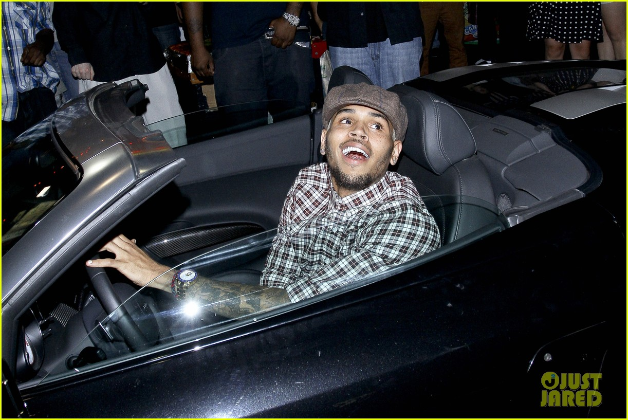 chris brown supperclub party 022710362