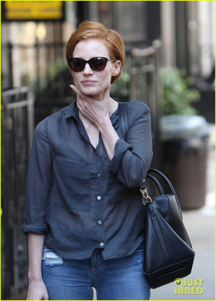 jessica chastain go see the intouchables 022696381