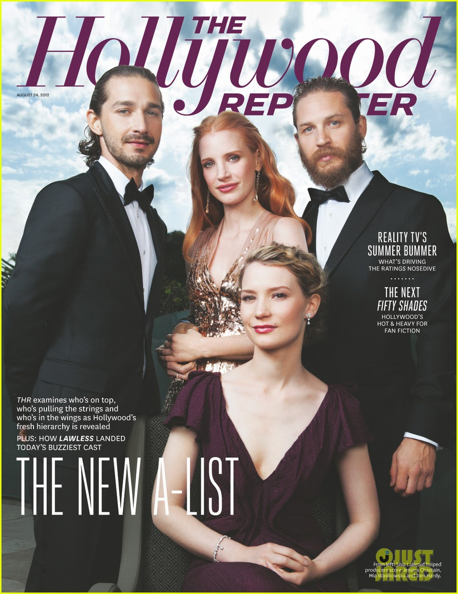 jessica chastain tom hardy cover thr 012702477
