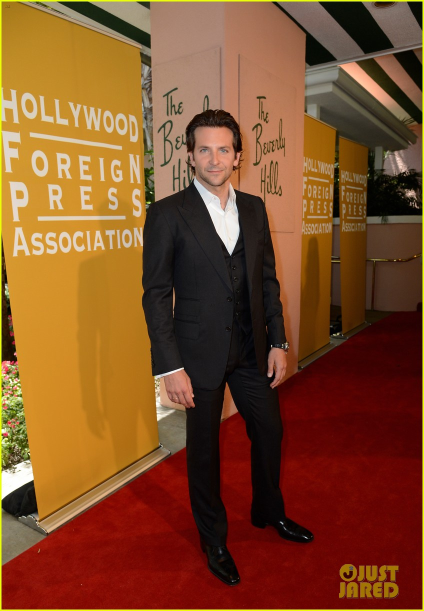 bradley cooper john travolta hfpa installation luncheon 01