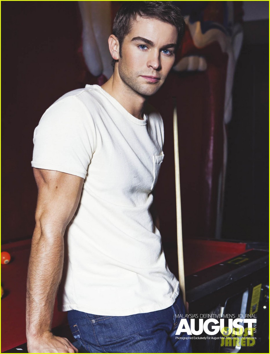 chace crawford buff biceps for august man magazine exclusive 032711634