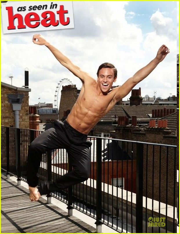 tom daley new shirtless photo shoot 052706168