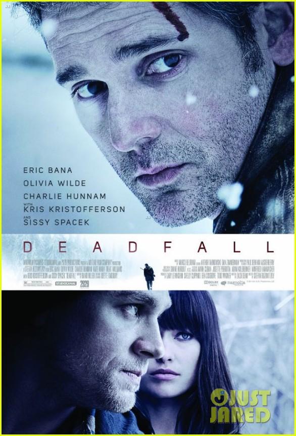 olivia wilde charlie hunnam deadfall trailer poster2699439