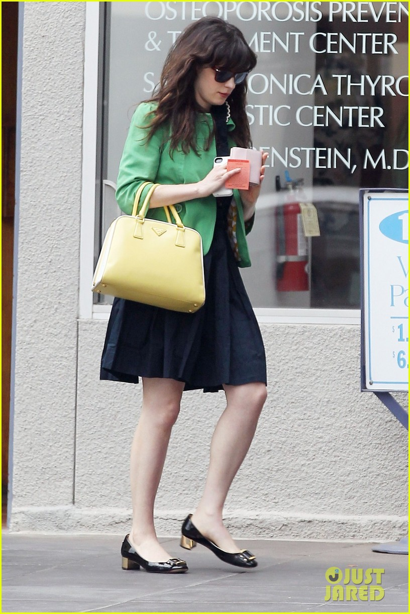 zooey deschanel out shopping 012698449