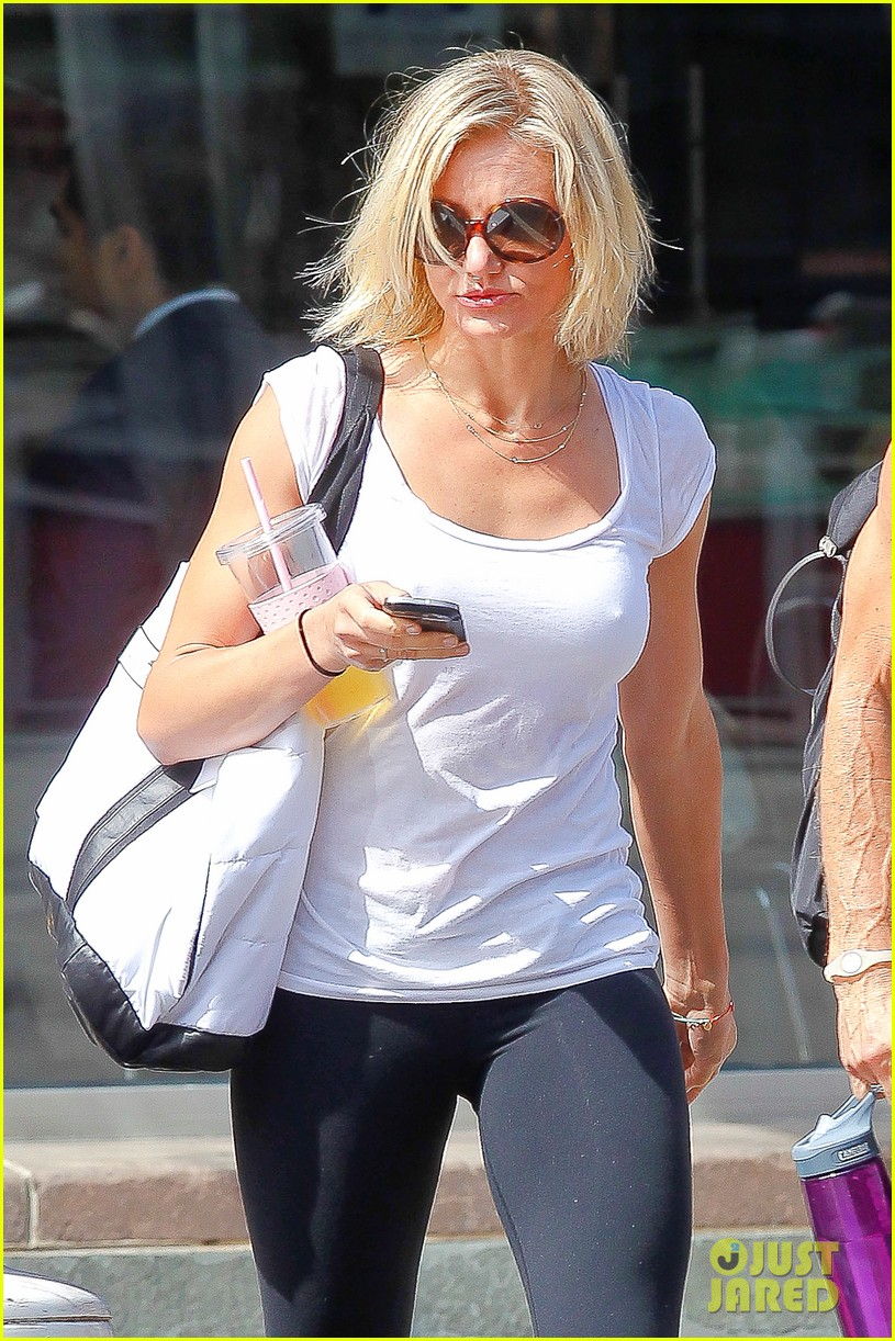 cameron diaz fitness fun in big apple 082709927