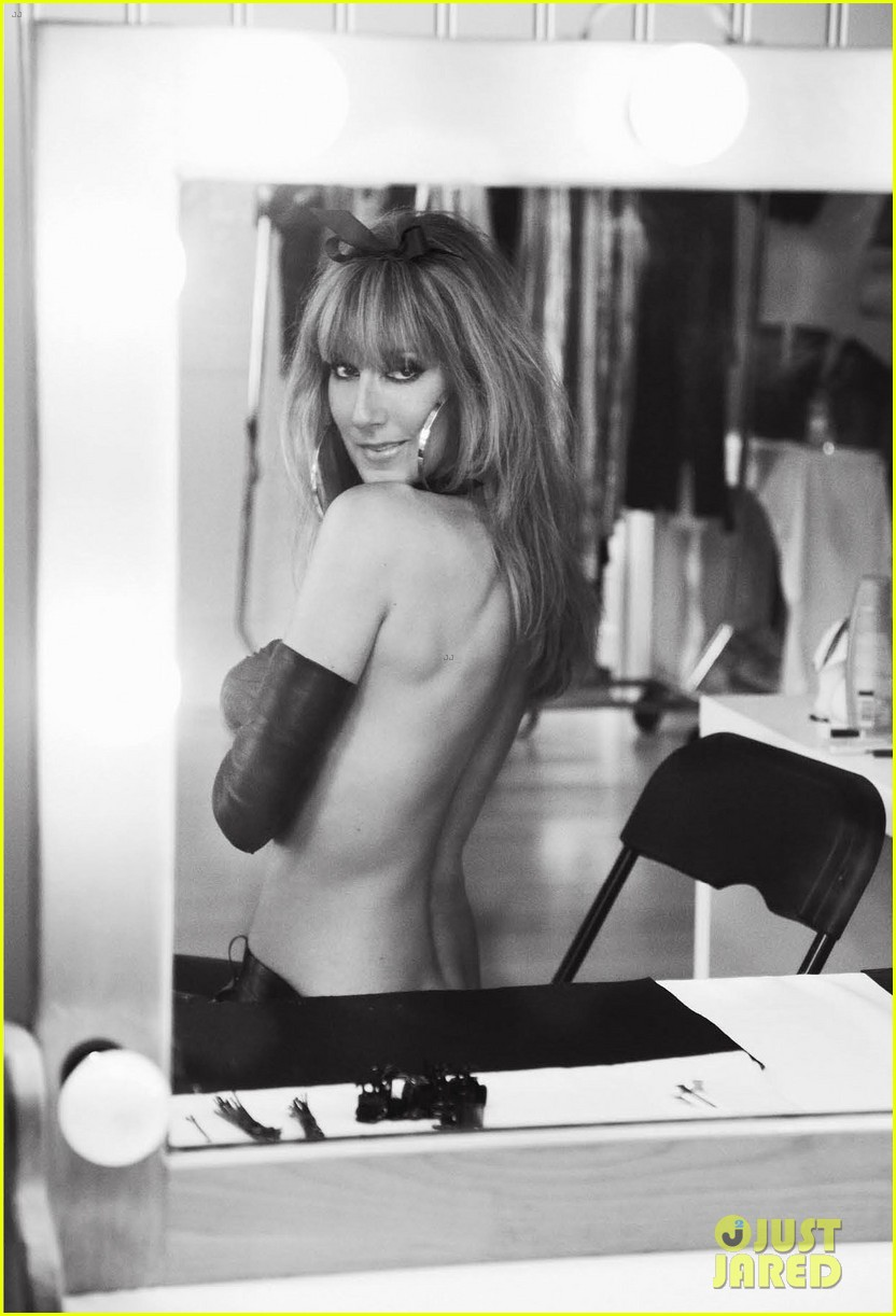 celine dion topless for v magazine 032707364