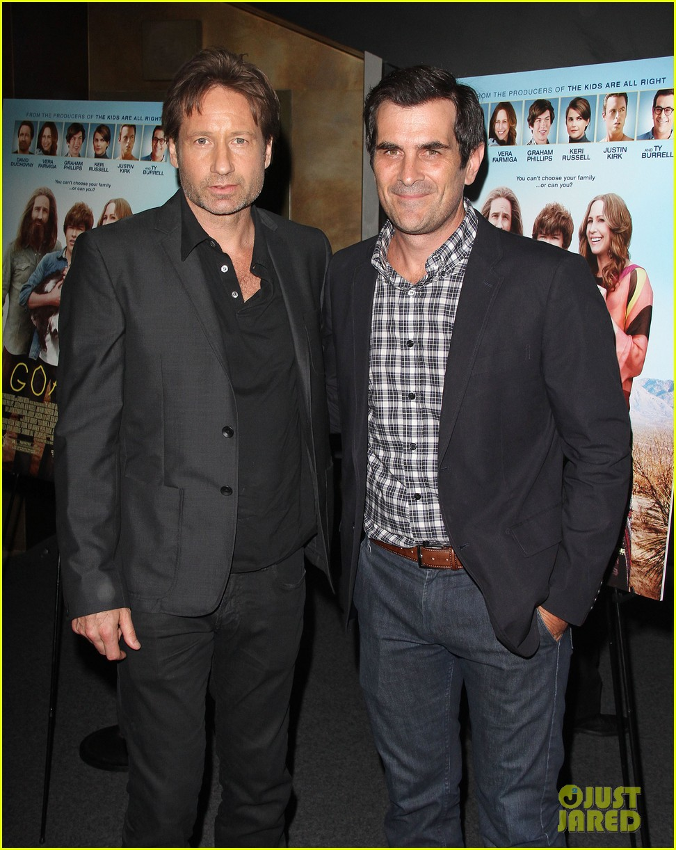 david duchovny dakota johnson goats premiere 032698979