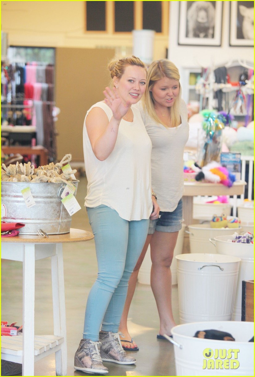 hilary duff studio city shopping luca 05
